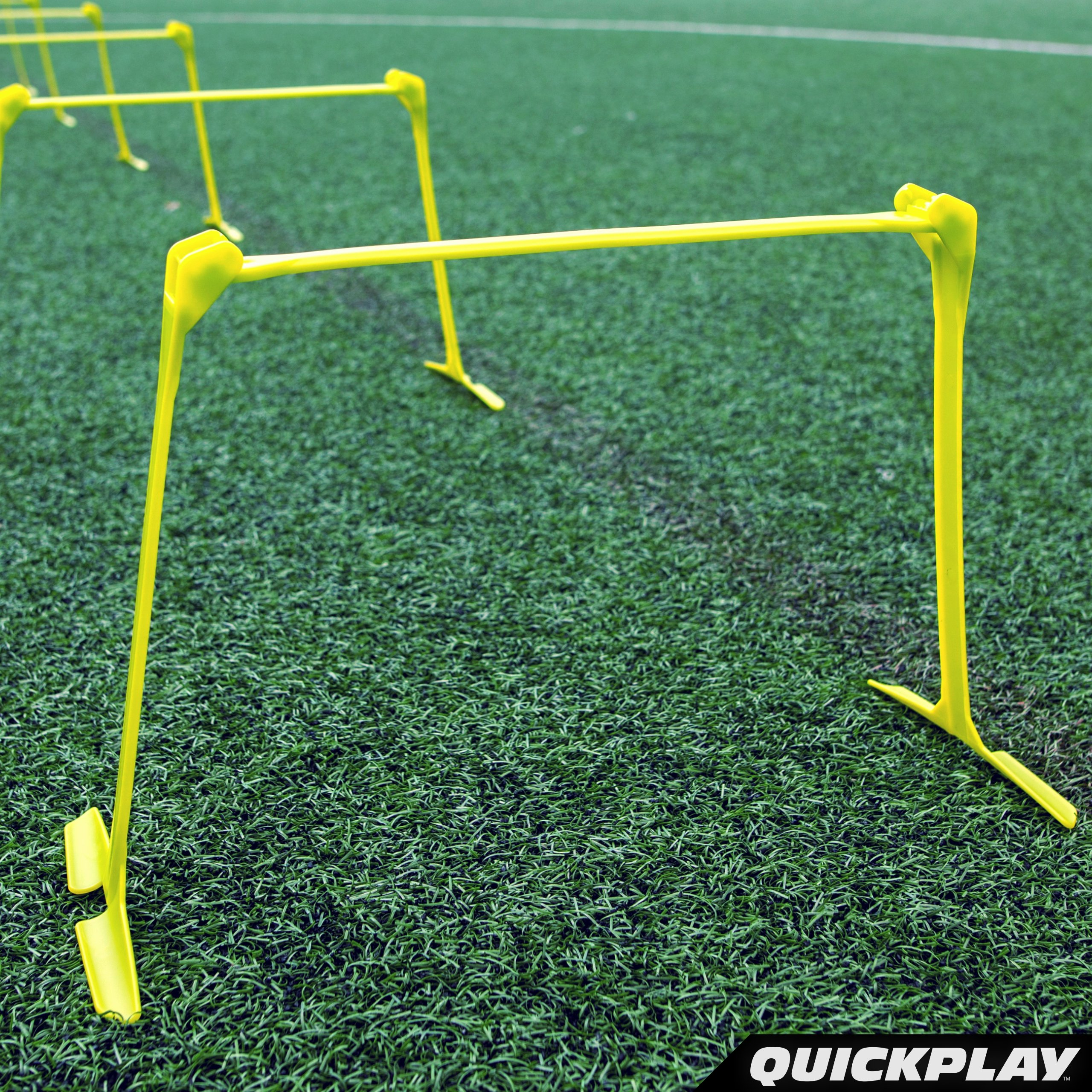 QuickPlay PRO Adjustable Height: 6'', 9'' + 12'' All-in-One Speed Hurdles (Set of 6) Speed Training Hurdles, Agility Hurdles and Plyometric Hurdles by QuickPlay (Image #8)