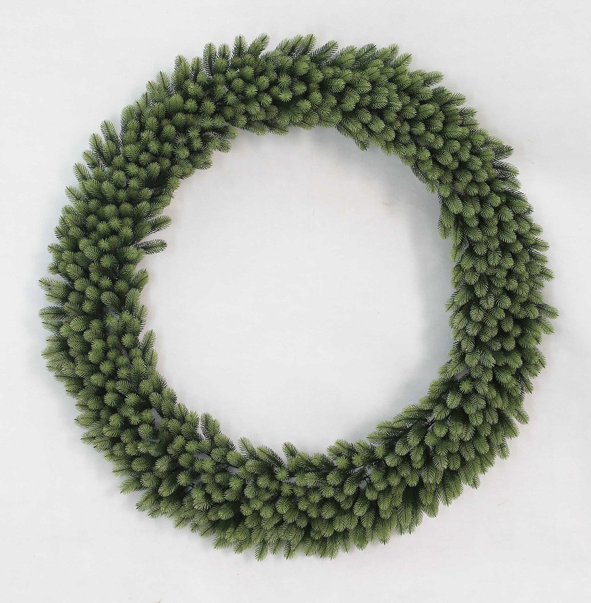 King Of Christmas 60'' Royal Fir Wreath With 300 LED Lights