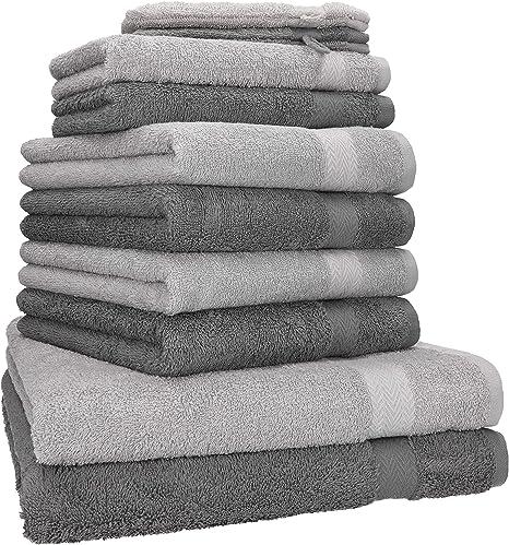 BETZ - Juego de toallas Premium, 100% algodón, 10 piezas: 2 ...