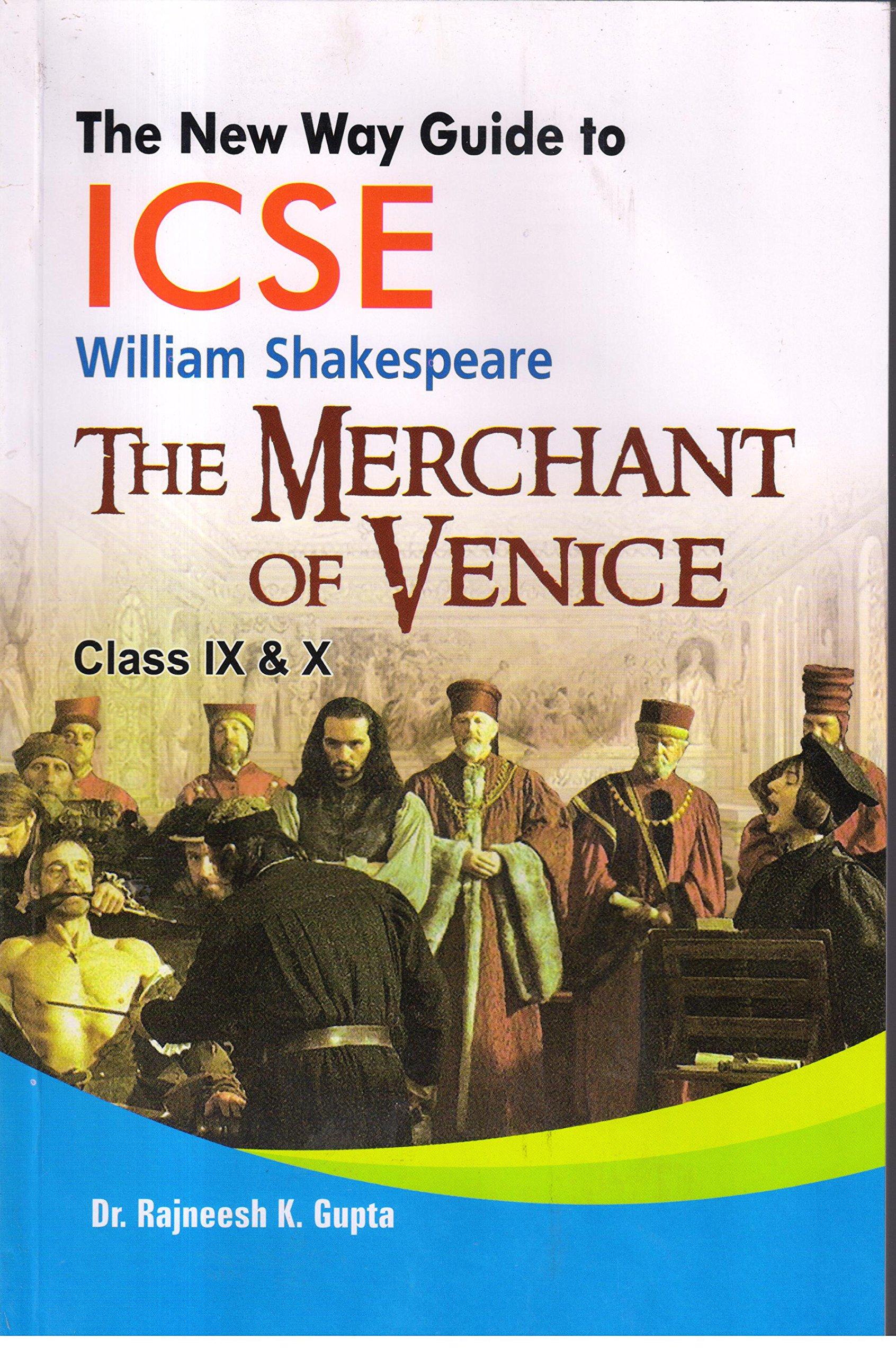 Merchant Of Venice Story Book