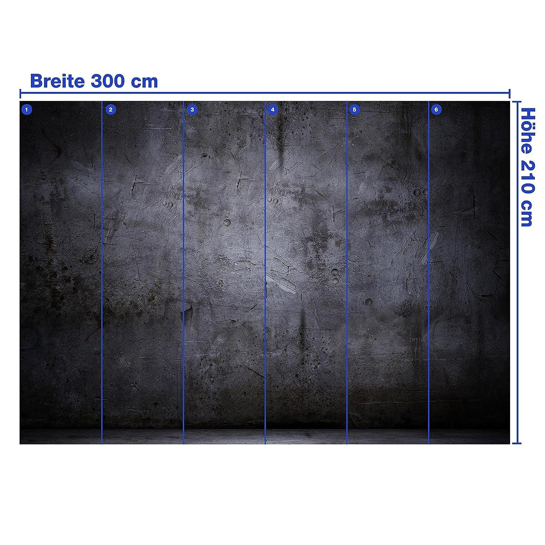Wandmotiv24 Fototapete Fototapete Fototapete Schwarze Wand M0788 XXL 400 x 280 cm - 8 Teile Wandbild - Motivtapete B076CHZG4W Wandtattoos & Wandbilder 67b92f