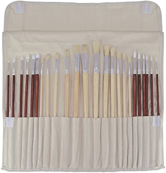 Art Advantage Oil and Acrylic Brush Set
