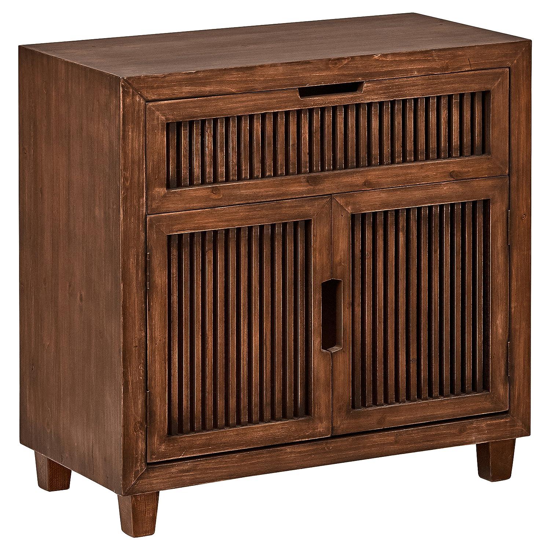 "Stone & Beam Fremont 2-Door Cabinet, 31.5""W, Ash"