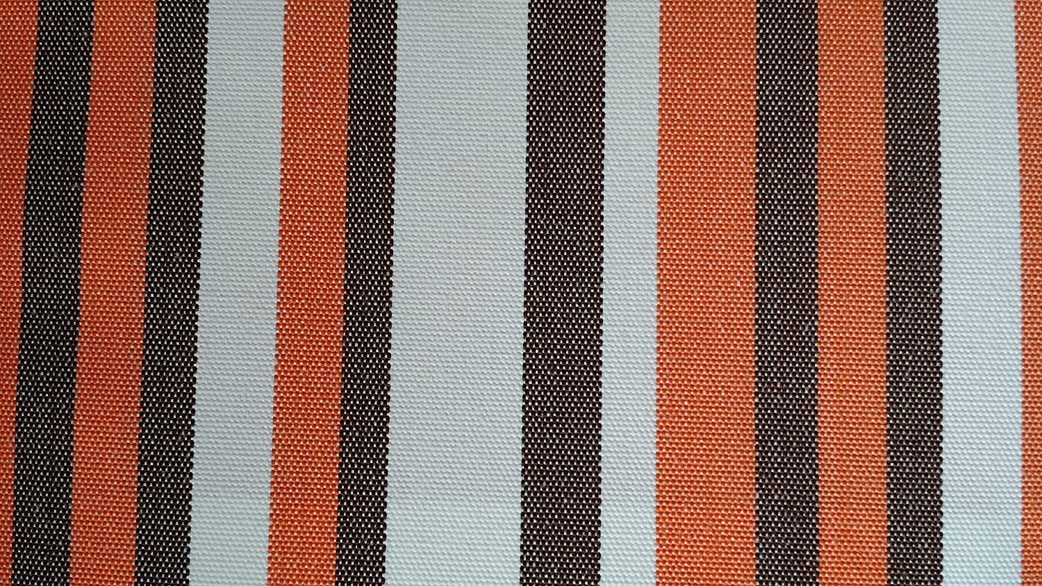 Outdoor Deko Kissen Fine Stripes Orange 40 x 40 cm (Stuhlkissen)