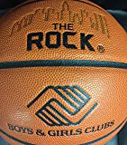 """The Rock Basketball - Official Size 29.5"""" Composite Leather Basketballs - EXCLUSIVE PATENTED UNIQUE DEEP PEBBLE CHANNEL DESIGN"""
