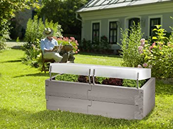 Hochbeet Timber Komplett Set Amazon De Garten