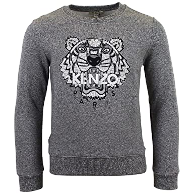 Sweat Kenzo Kids Tigre Anthracite - Enfant  Amazon.fr  Vêtements et ... d6f8aa9518f