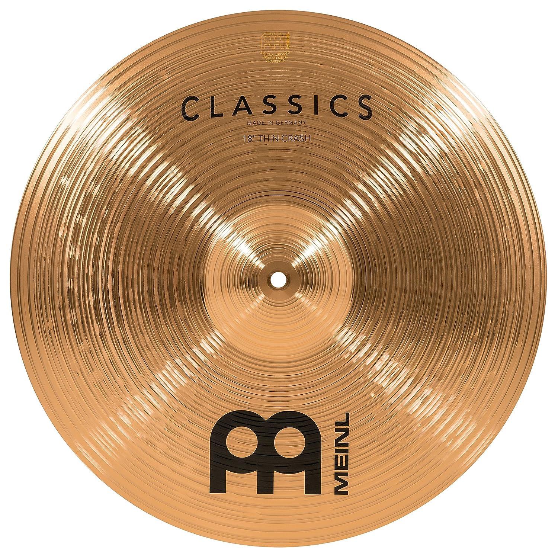 格安 MEINL C18TC Cymbals マイネル Classic Series クラッシュシンバル 18