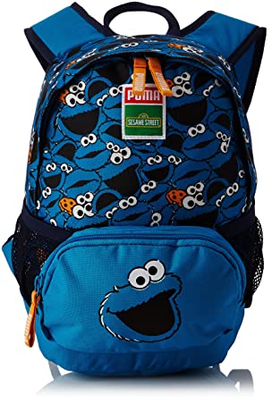 Puma Children s Sesame Street Small Backpack blue Blue Jewel Cookie Monster  Size OSFA 8990017a66903