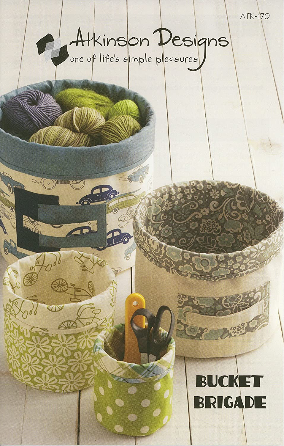 Atkinson Designs Bucket Brigade Pattern by Atkinson Design B00DJWGLQI