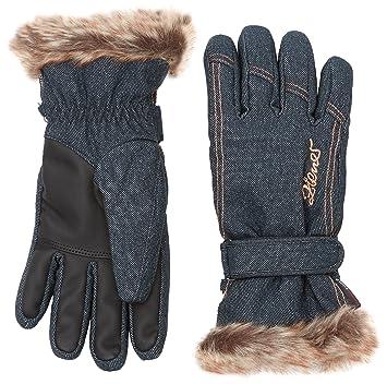 Ziener grey melange Kim lady glove