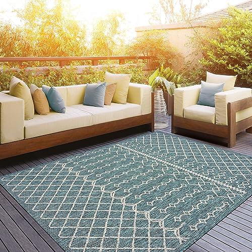 LR Home Sun Shower Indoor/Outdoor Area Rug