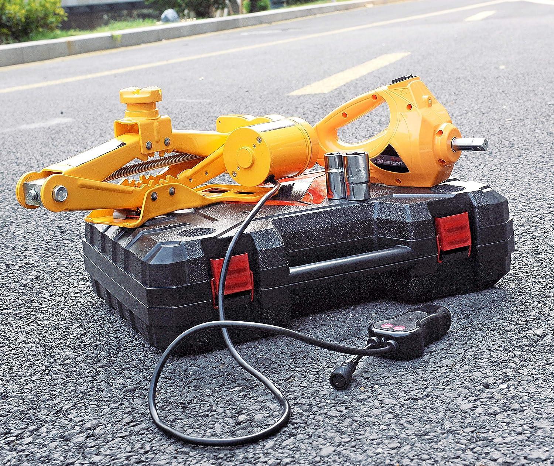 altezza massima 350/mm ZS Zaishang/Martinetto a pantografo elettrico 12V con avvitatore a impulsi per autovetture