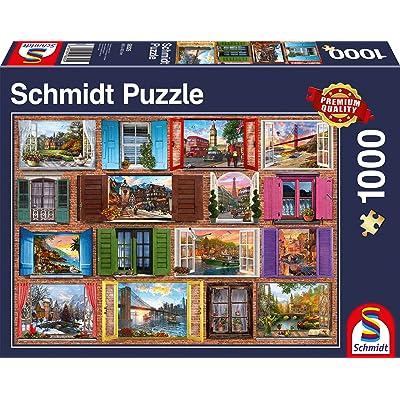 Schmidt Spiele Non Fenêtres Grandes Ouvertes, 1000 Pcs, 58325