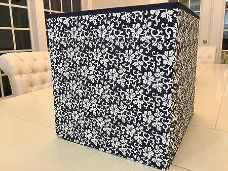 IKEA DRONA caja de almacenamiento organizador para Kallax expedit estantería unidades Multicolor Blanco Azul 503.90.07: Amazon.es: Hogar