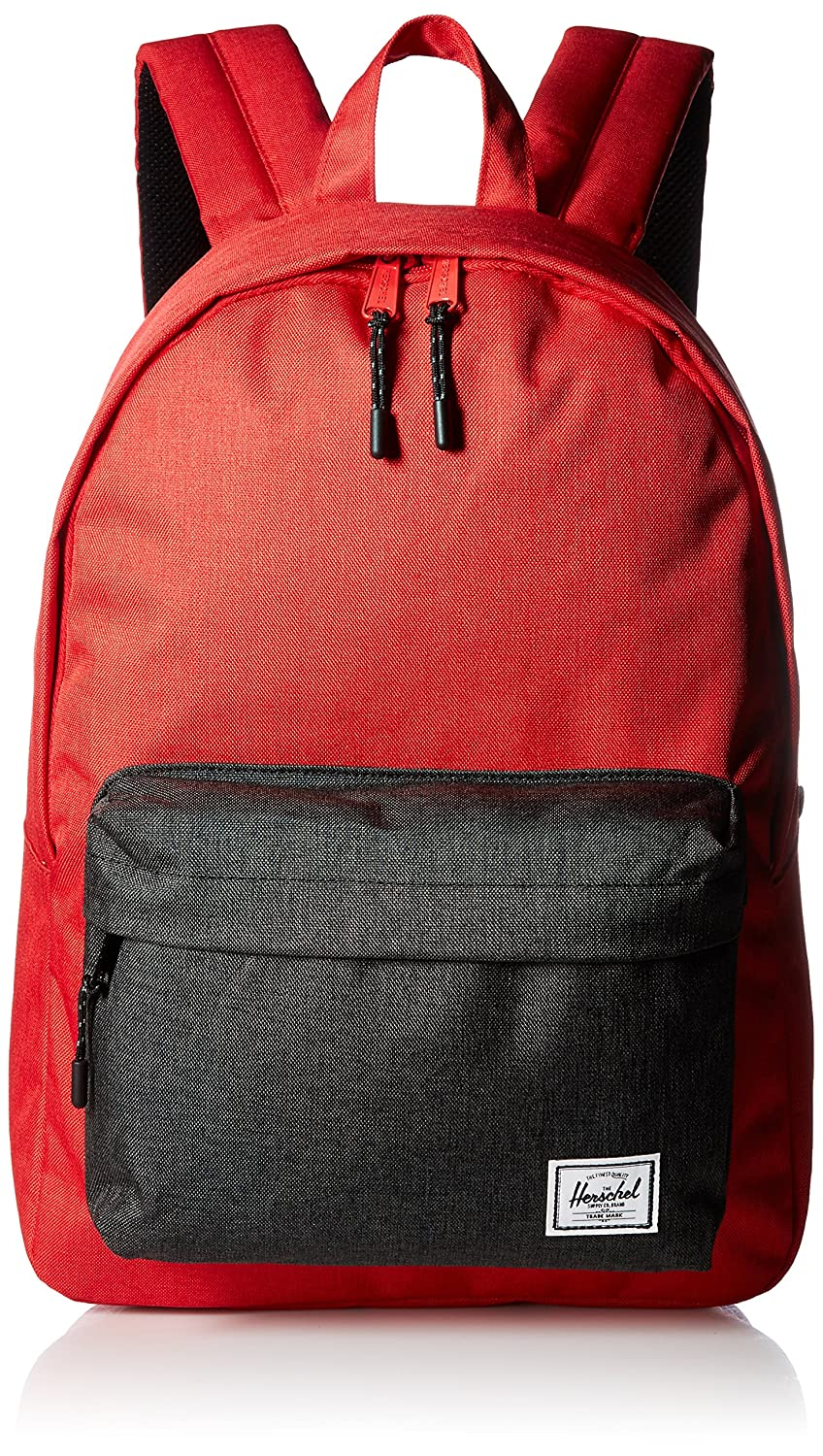 Amazon.com | Herschel Classic Backpack Barbados Cherry Black Crosshatch, One Size | Casual Daypacks