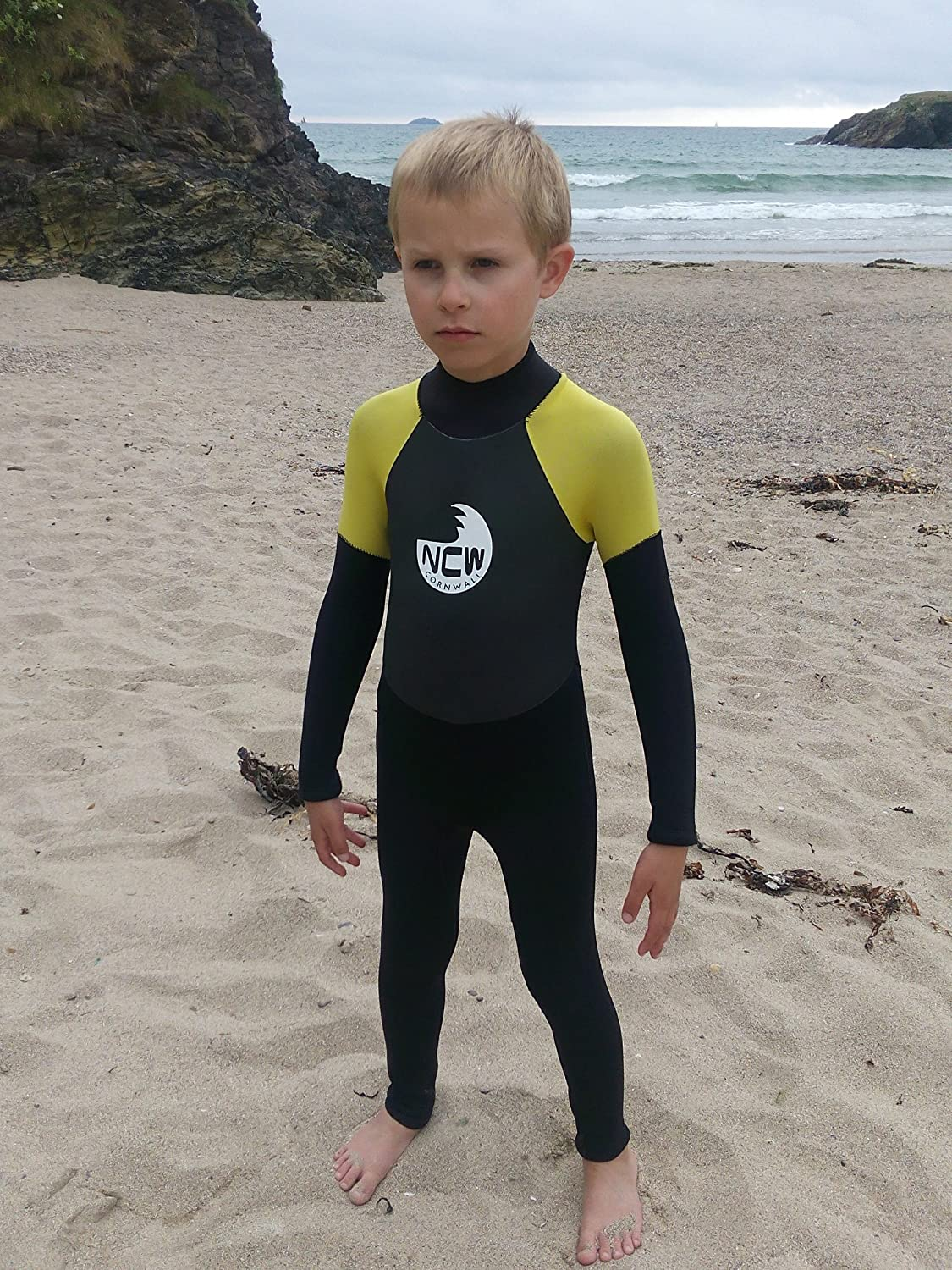 Idea for many watersports or ju Kids warm 5mm full wetsuit for all watersports // beach use Children wear these suits all year round Ideal for keeping your child warm as we find little ones often get very cold even in the summer sizes for 1 to 14 years