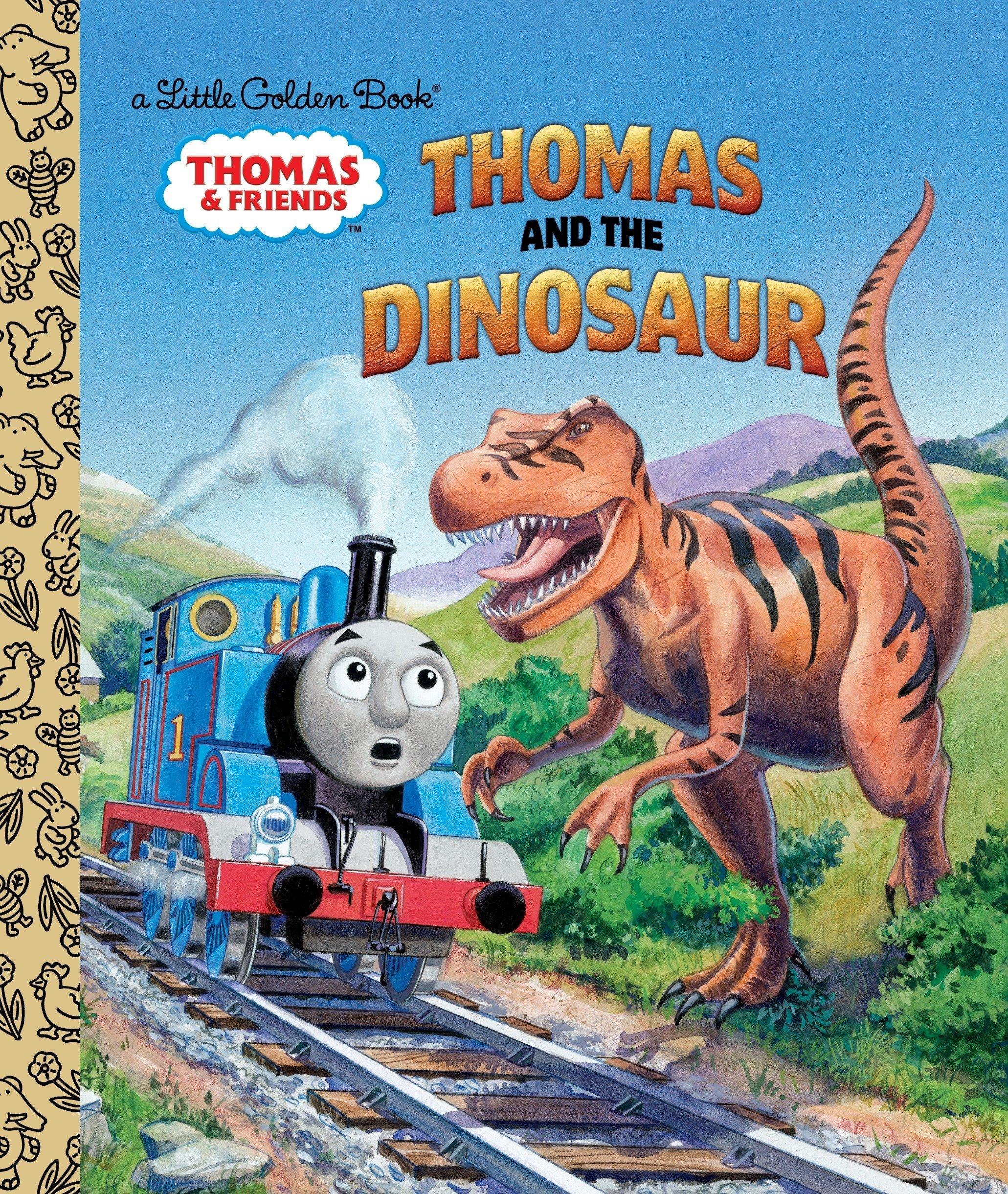 Thomas And The Dinosaur Friends Little Golden Book Books Lapadula 8601420761964 Amazon