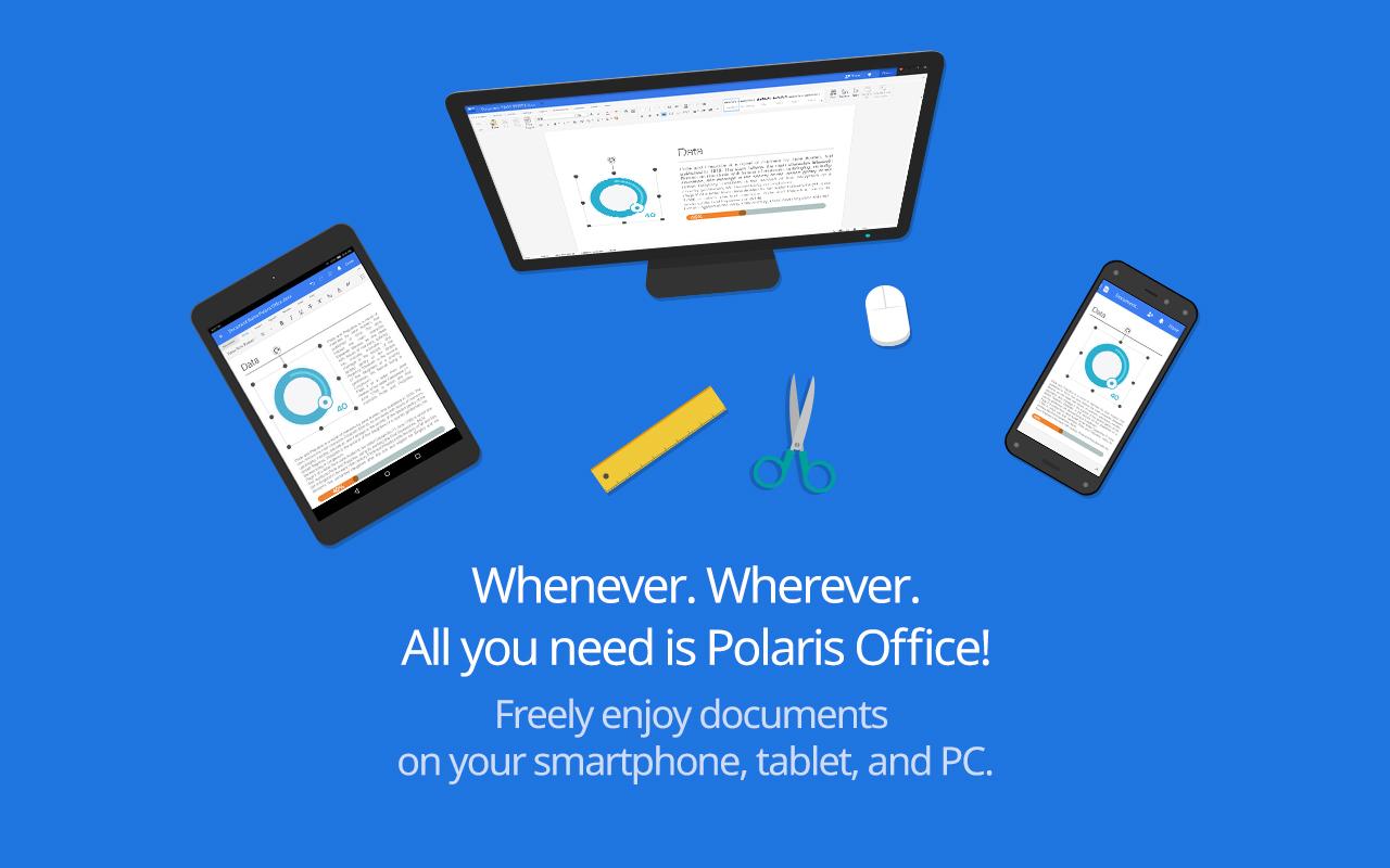 Polaris office word, docs, sheets, slide, pdf apk download.