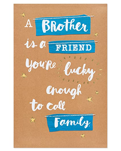 Amazon American Greetings Friend Birthday Card For Brother