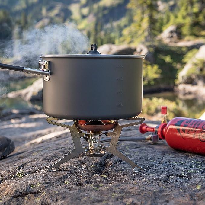MSR WhisperLite International - Hornillo de combustible 2017 Hornillos de camping: Amazon.es: Deportes y aire libre