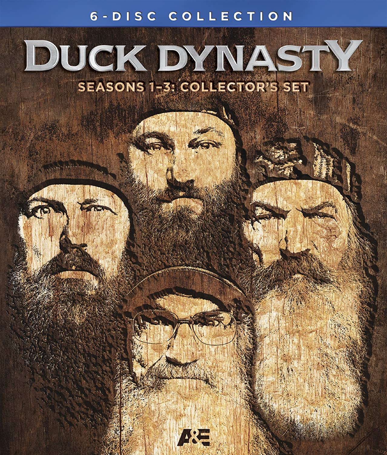 Amazon.com: Duck Dynasty: Seasons 1-3 Collectors Set [Blu-ray ...