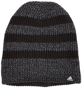 abcb79ce8fca5 adidas Men's 3S Beanie, Black/White, One Size: Amazon.co.uk: Sports ...