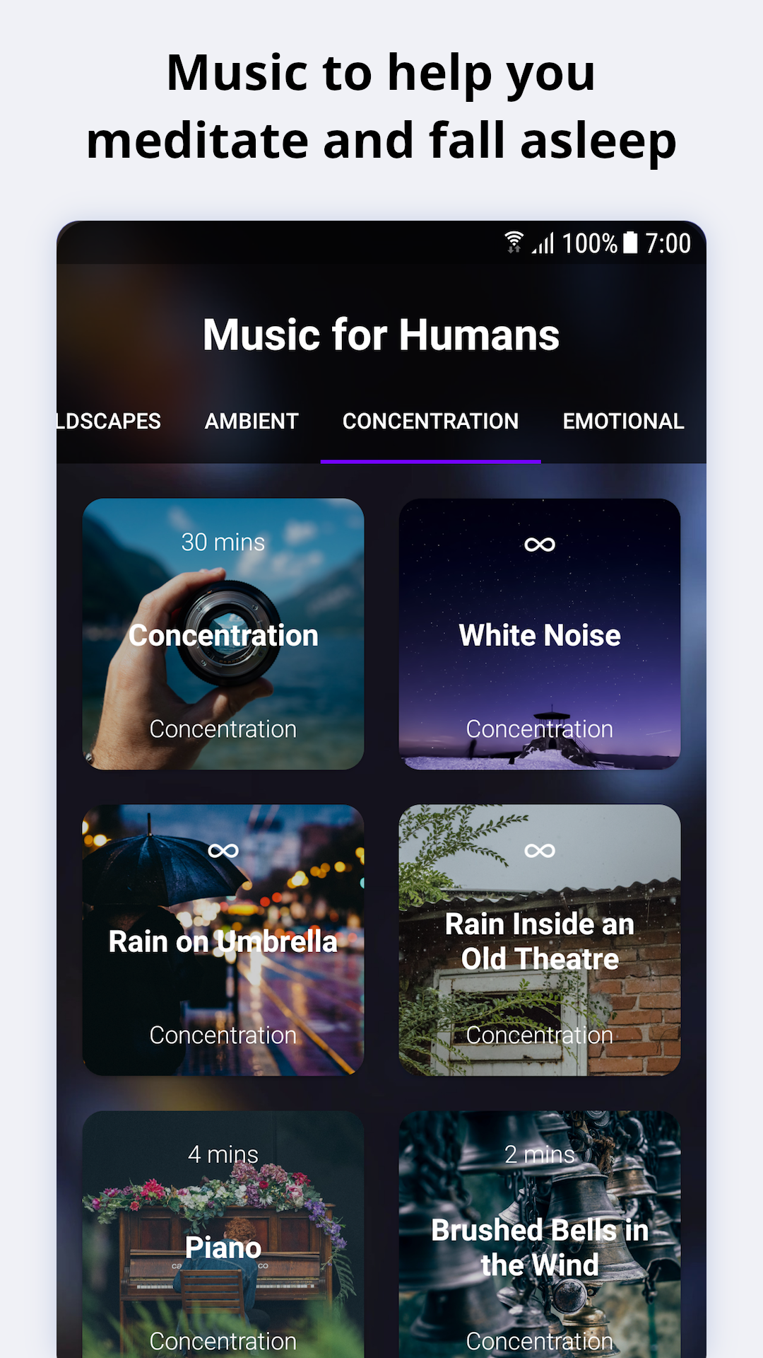 Deep Meditation: Relaxation & Sleep Meditation App: Amazon ...