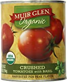 Muir Glen Organic Crushed Tomatoes with Basil, 28 Oz