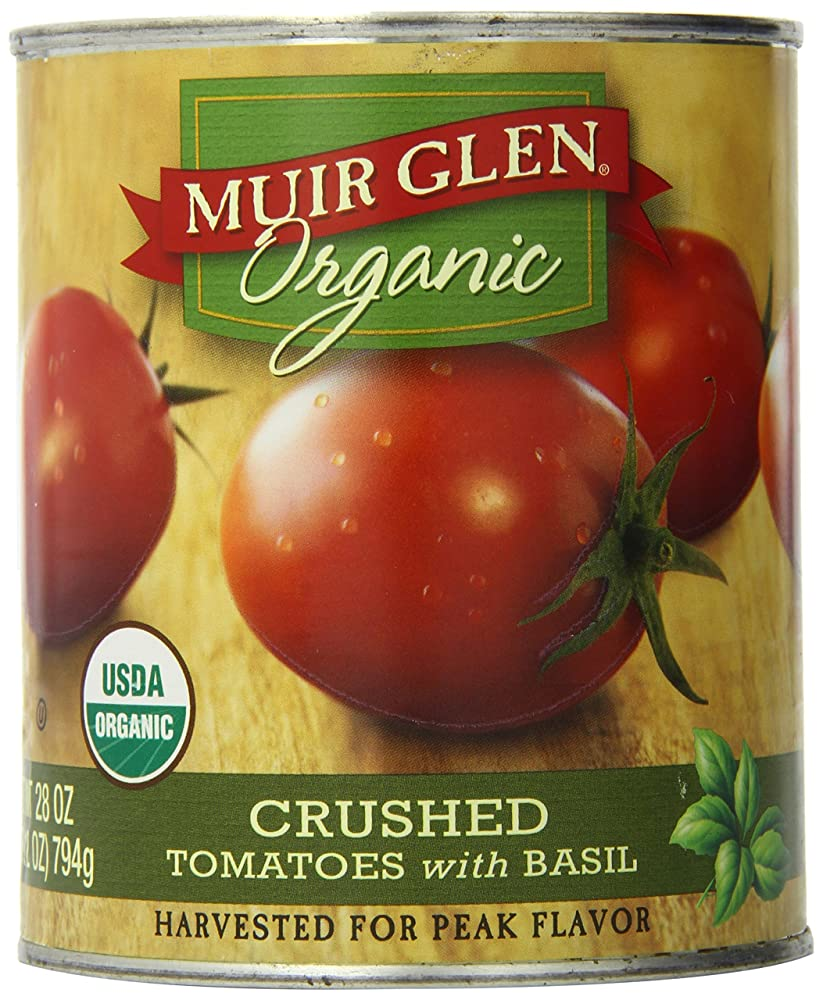 Muir Glen Crushed Tomatoes w/Basil Review