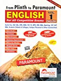 Paramount English for General Competitive Exams Volume - 1 (English) from Plinth to Paramount (Revised Edition 2020)
