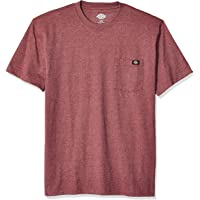 Dickies Mens WS450H Short Sleeve Heavyweight Heathered Crew Neck Tee Short Sleeve T-Shirt