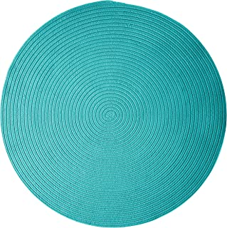 product image for Colonial Mills Boca Raton Area Rug 7x7 Turquoise