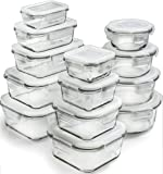 Amazon Price History for:Glass Storage Containers with Lids - Glass Food Storage Containers Airtight - Glass Containers With Lids - Glass Meal Prep Containers Glass Food Containers - Glass Lunch Containers [26 Pieces]