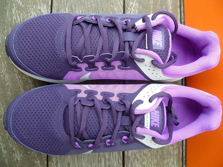 Nike Nike Nike Running Zoom Elite + 6 Damen Footwear Scarpe Stivali Trainer Textile Viola Violett ba5cf3