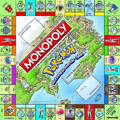 Winning Moves - Juego de Tablero Monopoly Pokémon (WIN44116): Amazon.es: Juguetes y juegos