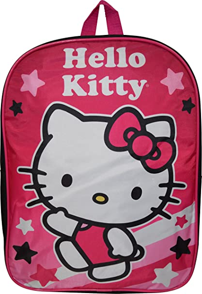 """9f396a5e6 Image Unavailable. Image not available for. Color: Hello Kitty 15""""  School Bag Backpack"""