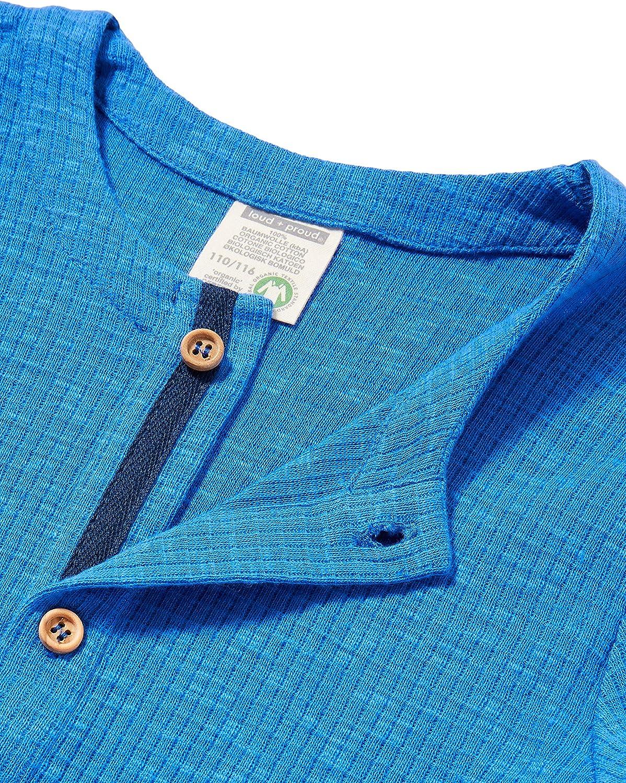 loud proud Jungen Jacket Waffle Knit Organic Cotton Jacke