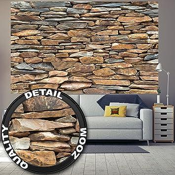 Superb Fototapete Schiefer Stonewall Wandbild Dekoration 3d Steintapete Stein  Muster Tapete Steinoptik Wand Schiefergestein Steinverkleidung | Wandtapete