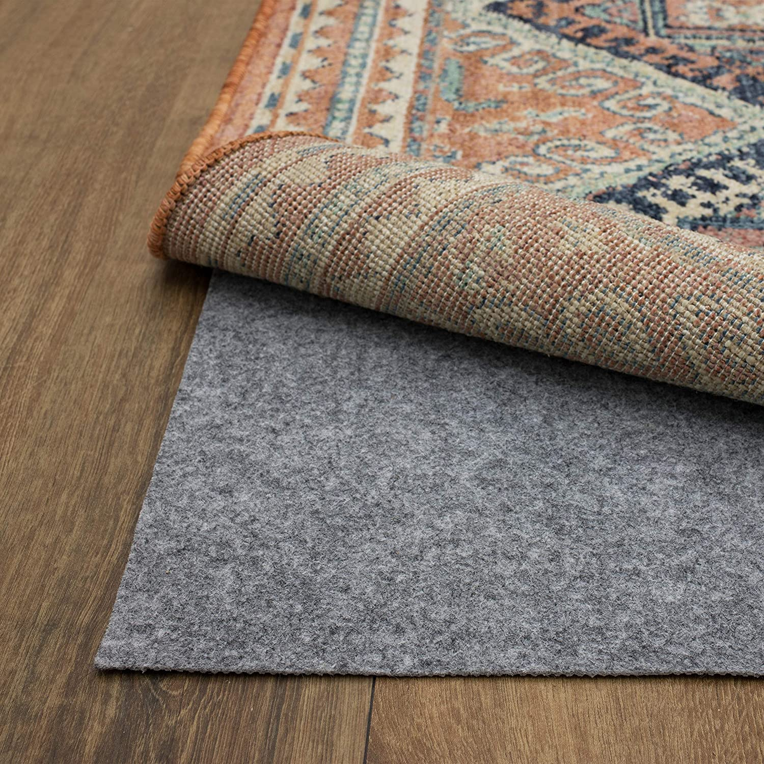 Mohawk Home Dual Surface Area Rug, 8' Round, Gray