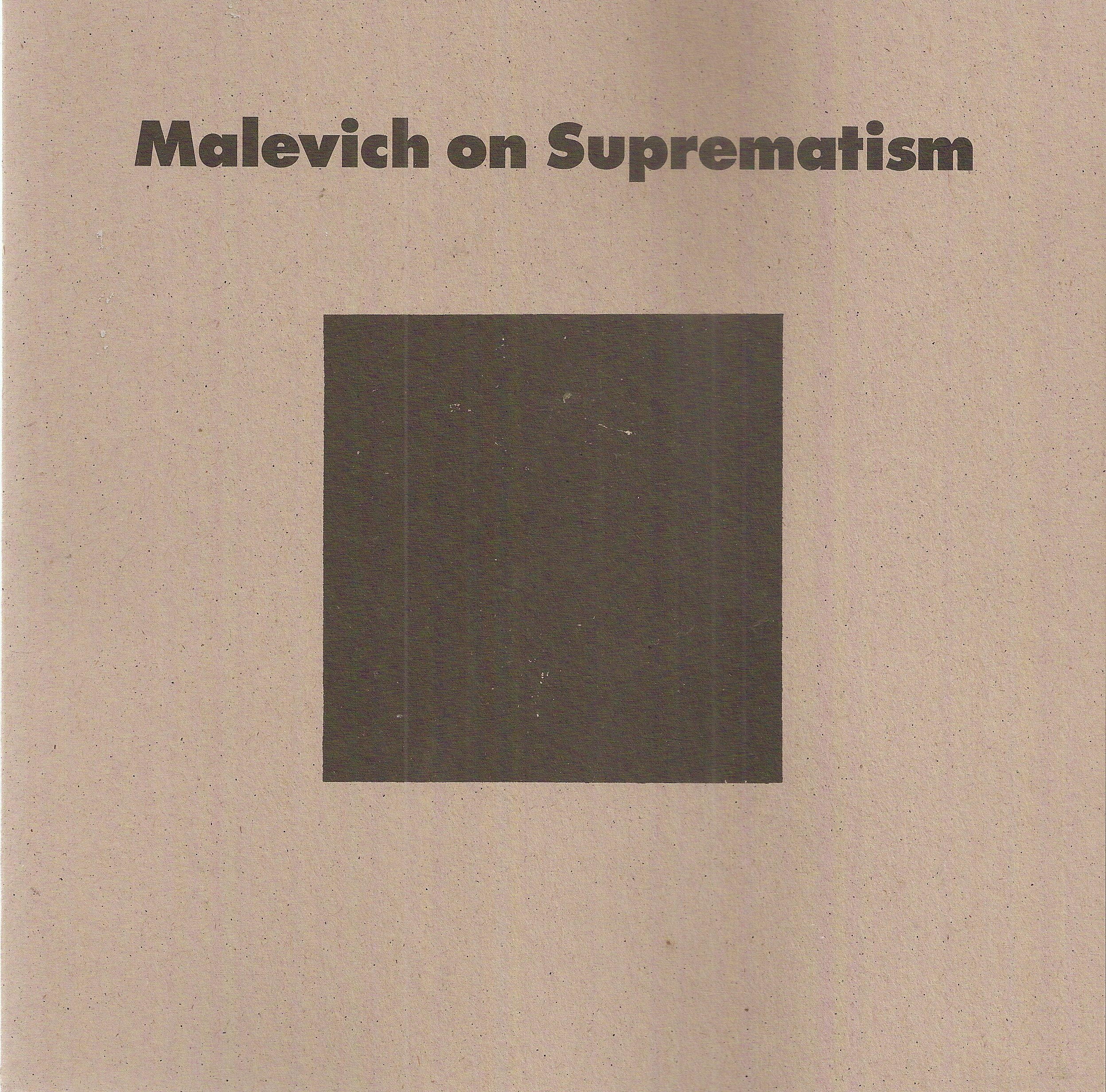 malevich the non objective world pdf