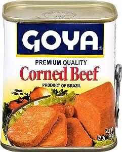 Goya Seasonings, Corned Beef, 12 Ounce Can