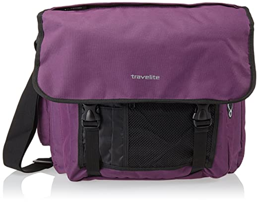 101 opinioni per Travelite Borsa Messenger 96248-15 Viola 25 L