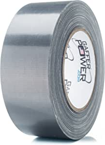 Gaffer Power PowerSteel Heavy Duty Duct Tape - 2 in X 25 Yards - Insulation, Ducting & HVAC Tape | Strong, Waterproof & Weather Resistant | Indoor & Outdoor Use | Residential, Commercial & Industrial