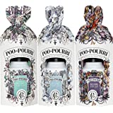 Poo-Pourri Gift Set - Lavender Peppermint, Potty Potion and Heaven Scent Before-You-Go Toilet Sprays in 3 Twist Boxes