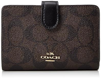 new products 7b935 c2a3b Amazon | [コーチ] 二つ折り財布 F23553 シグネチャー ブラウン ...