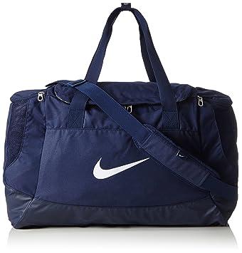 7cd05cf314 Nike Club Team Swoosh Duff Duffle - Midnight Navy Midnight Navy White