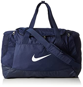 b8eb33ba0b4e Nike Club Team Swoosh Duff Duffle - Midnight Navy Midnight Navy White