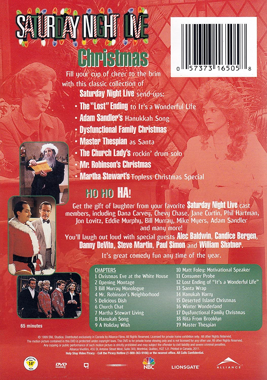 amazoncom saturday night livechristmas dvd 2004 unknown movies tv - Saturday Night Live Christmas Song