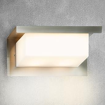 Briloner Leuchten Led Außenleuchte Integriertes Led Licht